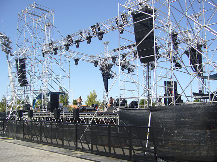 led stage